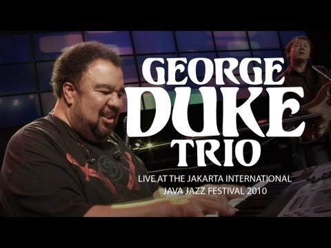 George Duke Trio Rush Hourroad Rage Live At Java Jazz Festival