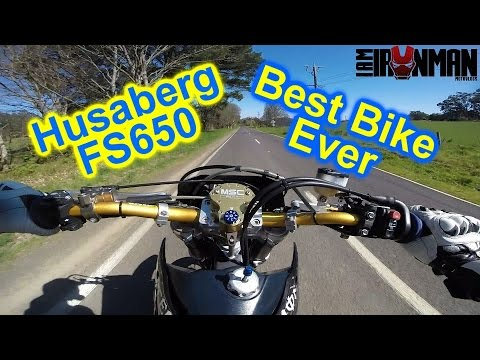 Motorbikes For Beginners   Husaberg FS650 Supermoto