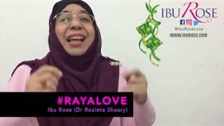 Ish, Jangan Judge Anak Orang Masa Raya | #RayaLove | IBU ROSE