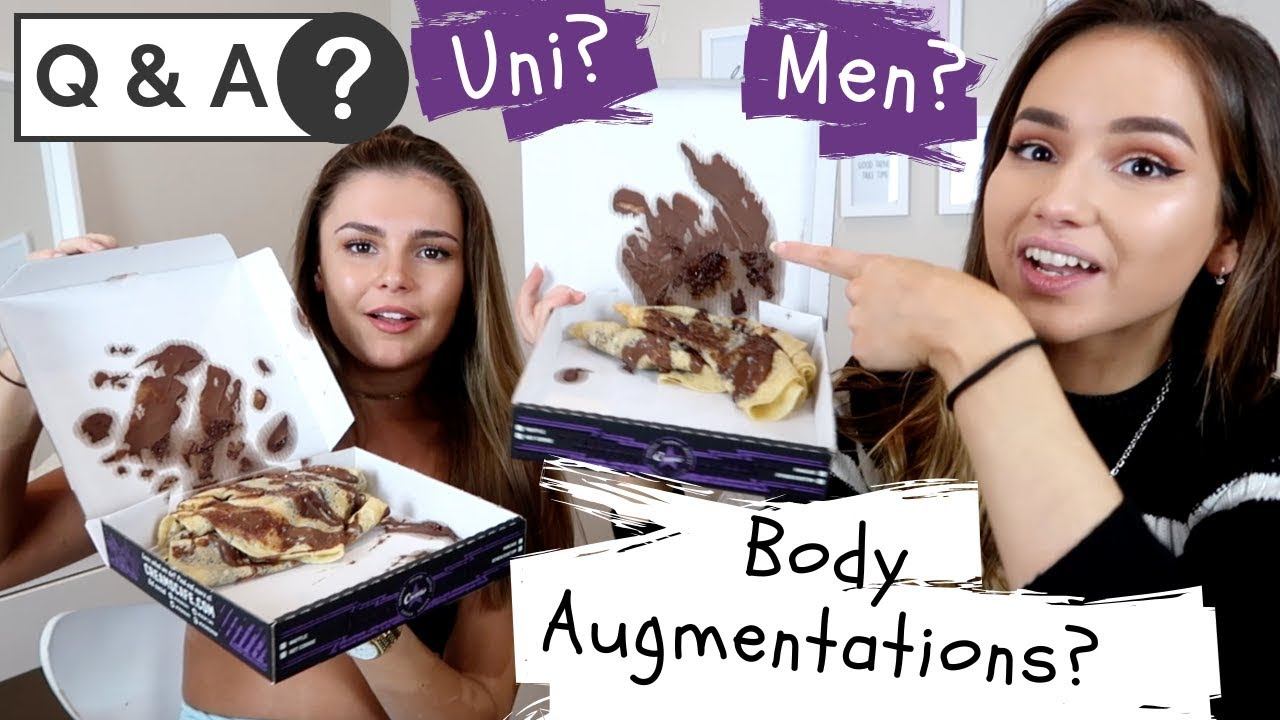 Q&A w/Bela Fernandez   Do we have any body augmentations? Uni? What we like in guys?