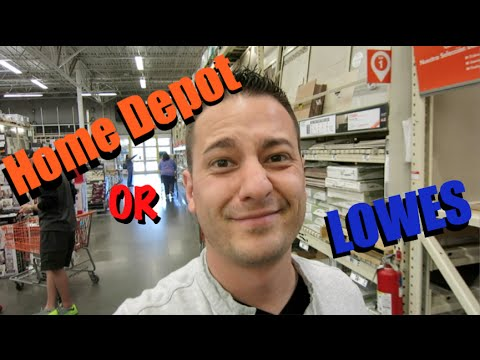 Home Depot Or Lowes