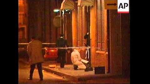 NORTHERN IRELAND: MAN SHOT DEAD OUTSIDE BELFAST NIGHTCLUB