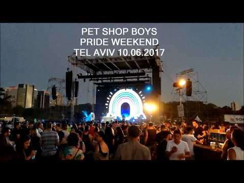 PET SHOP BOYS - TEL AVIV PRIDE WEEKEND - ISRAEL - 10.06.2017