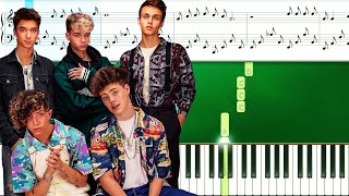 Why Don't We - Love Song (Piano Tutorial With Sheets | Piano Instrumental | Piano Karaoke)