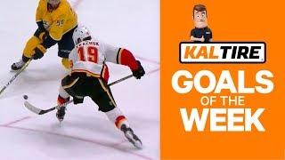 NHL Goals Of The Week: Tkachuk Goes Between Legs At The Buzzer!