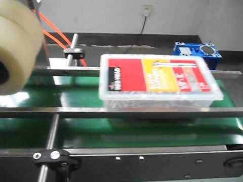 Hardware fitting box labeling machine