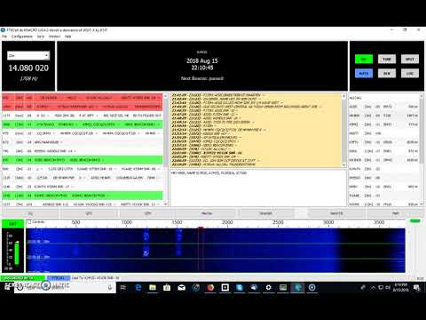 FT8CALL, The NEWEST HF Digital Mode, Introduction and Demo