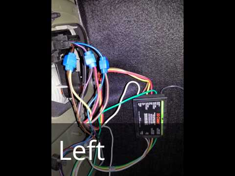 curt 56146 trailer wiring harness installation on saab 9 saab 9 5 trailer wiring harness #2