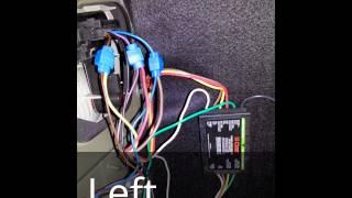 CURT #56146 Trailer Wiring Harness Installation on Saab 9-3 Linear 2003