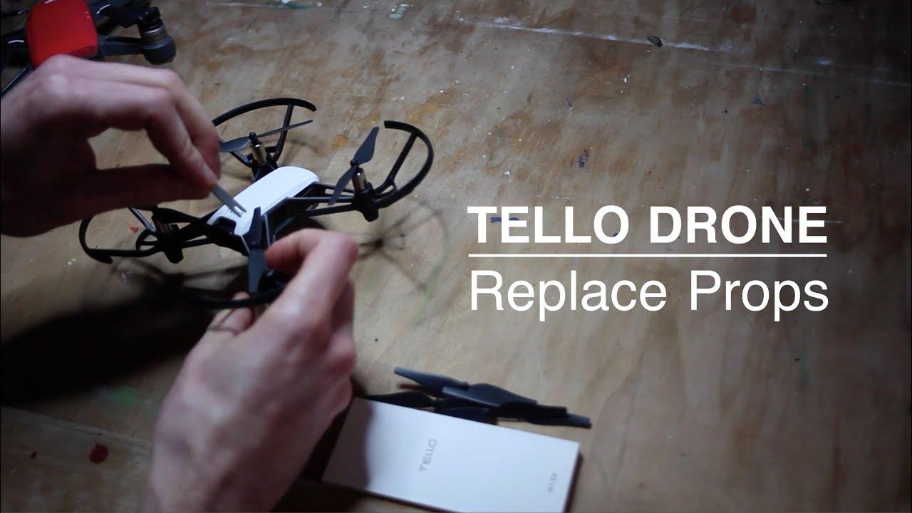 Tello Remove and Replace Props