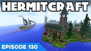 Hermitcraft V 130 | Spooky Graveyard! Ooooo! | A Minecraft Let's Play