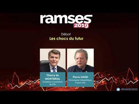 Ramses 2019 : les chocs du futur - Débat Thierry de Montbrial / Pierre Haski