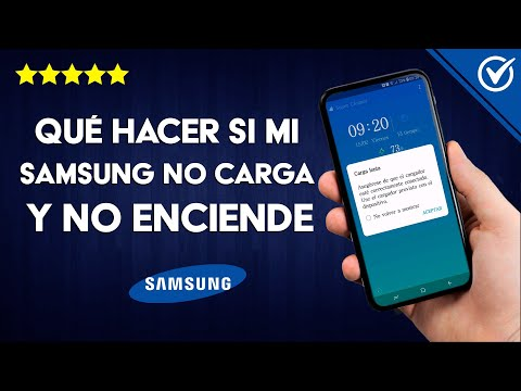 Qué Hacer si mi Samsung s10, s9, s8, s7, s6 no Carga y no Enciende - Solución