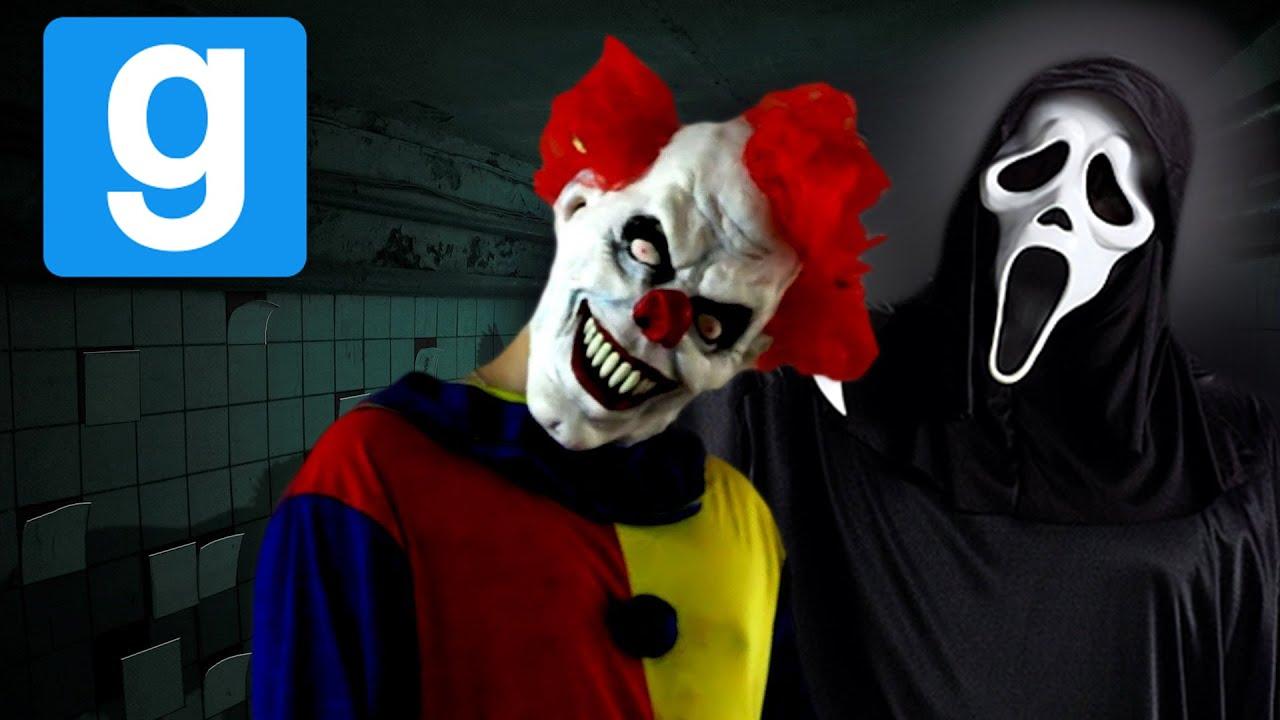 Gmod Horror Clowns Scream Amp Mommymash Scarezone 1