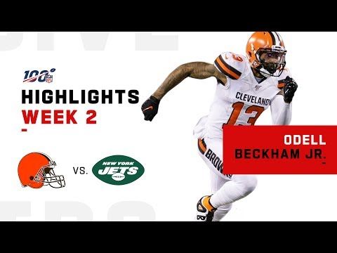 OBJ's EPIC Return to MetLife! | NFL 2019 Highlights