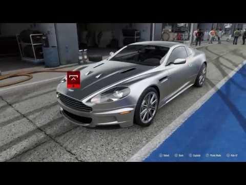 Forza Motorsport 7 2008 Aston Martin Dbs Car Show Speed Crash