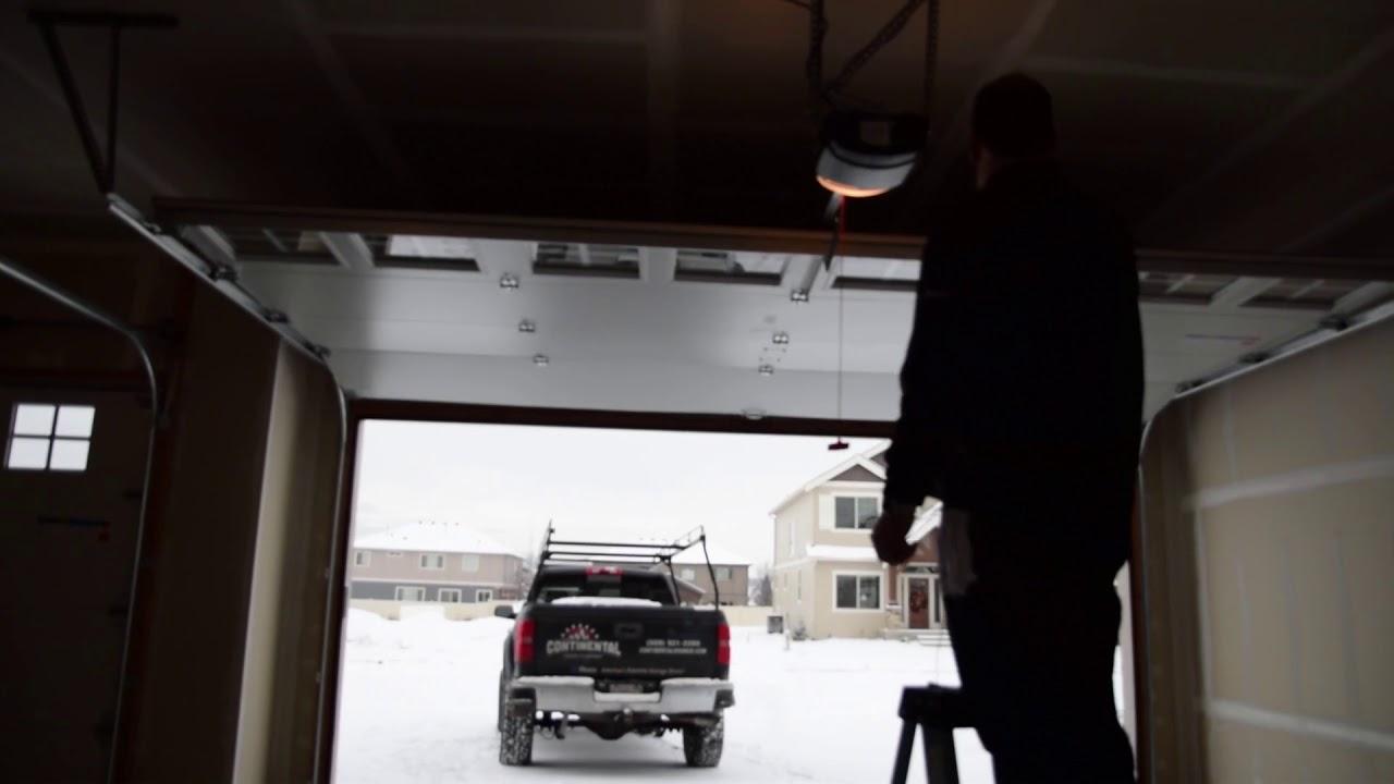 How To Program Linear Dc Garage Door Opener Limits Youtube