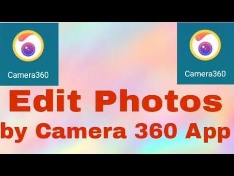 How to Edit Photos By Camera 360 photo editor | Easy Tutorial/kaise Camera  360 photo