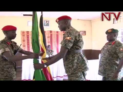 Brig. Sabiiti Muzeyi takes charge of Military Police