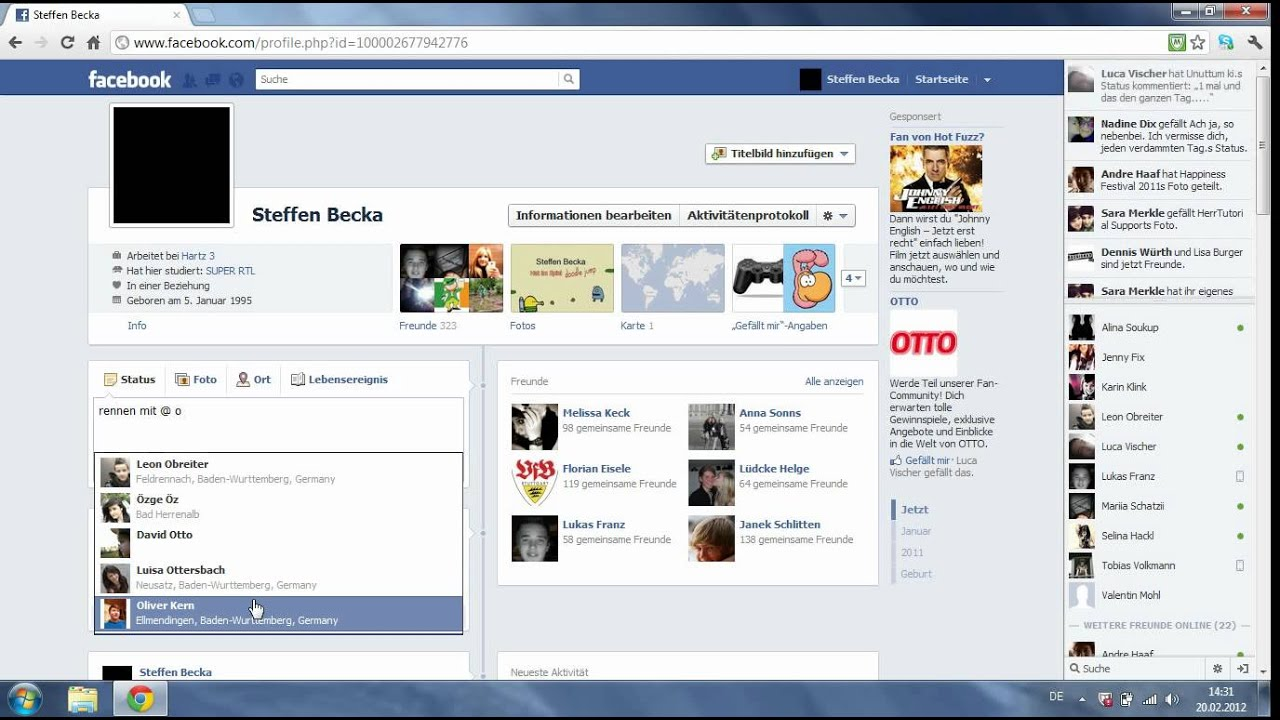 Markieren Facebook