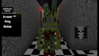 Springbonnie VOICE(ROBLOX)