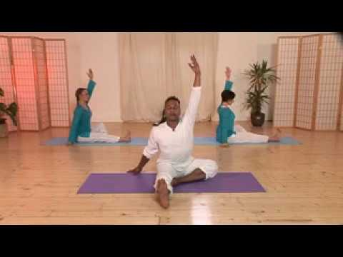 david olton seated hatha yoga poses into final relaxation