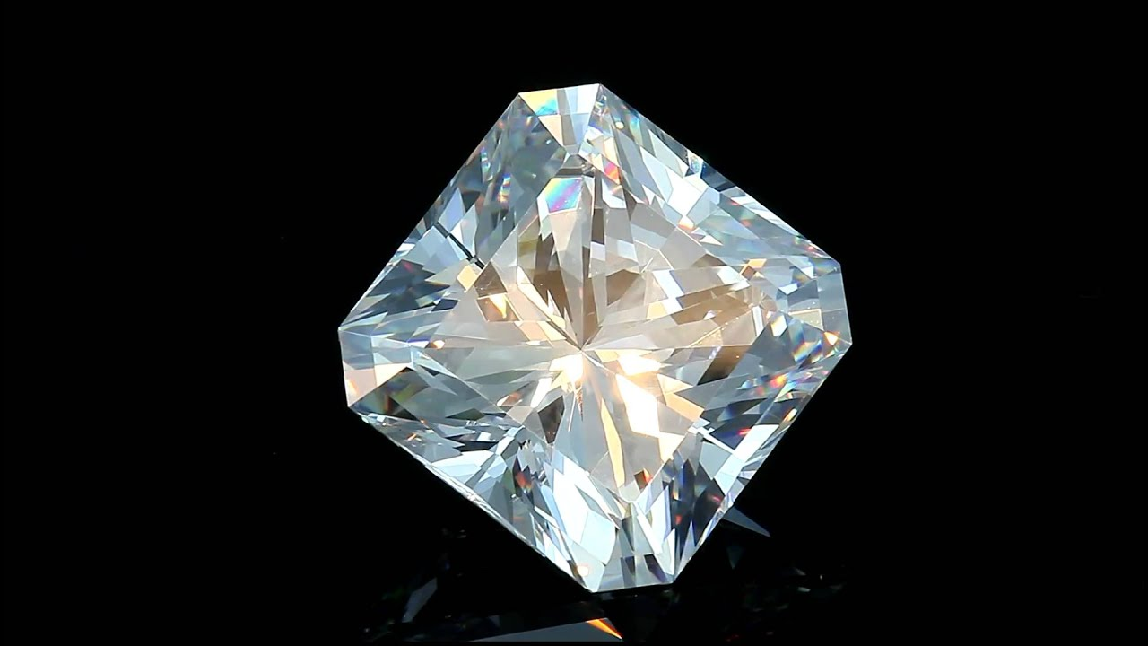 Loose Asscher Cut Princess Diamond 1 Carat Square Cut