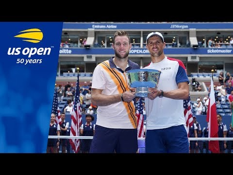 Jack Sock & Mike Bryan Clinch Second Slam In A Row