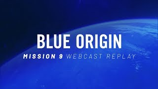 Replay of Mission 9 Webcast