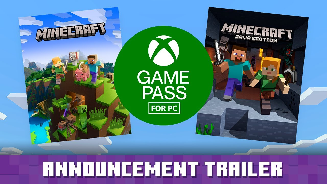 Get Minecraft for PC with Game Pass in November!