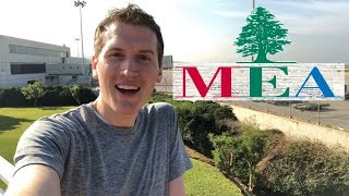 تجربة رائعة تحلق على درجة رجال الأعمال في طيران الشرق الأوسط! (MEA)