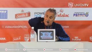 »Video: Leonardo Madelón - Unión 4 - Huracán VO 0 - Copa Santa Fe