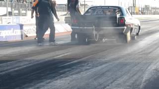 69 Roadrunner 550cui Mopar Blown on alcohol at santa pods mopar nats 1th testruns