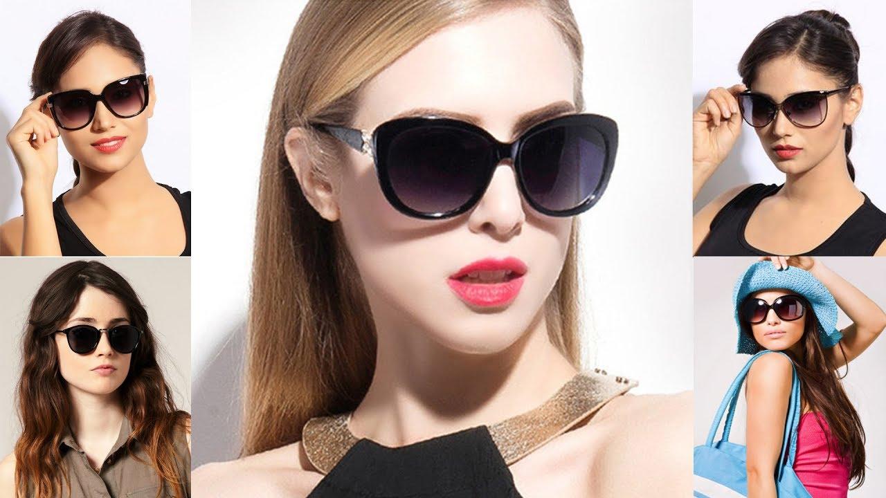 9c0f685f7 أشيك موديلات نظارات شمسية للبنات موديلات رائعة - YouTube