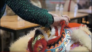 Lion Dance Eye Dotting Ceremony by Buu Kim Tu | Culture | EM Collective