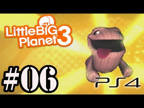 Let's Play: LittleBigPlanet 3 [PS4] - Parte 6