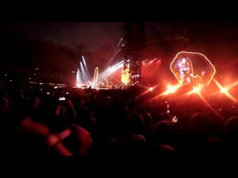 Coldplay Melbourne 2016 - The Scientist Live