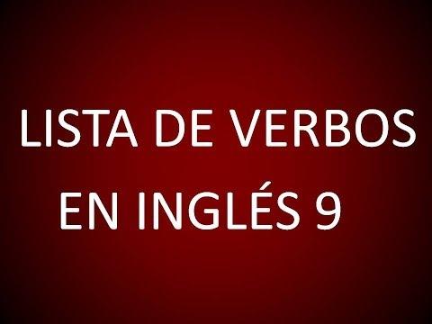 Inglés Americano - Lista De Verbos 9 (Lección 179)