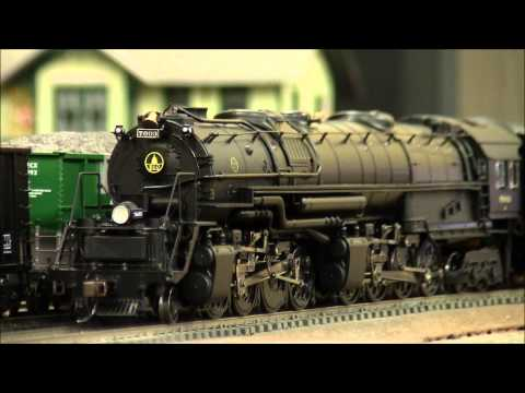 Bachmann EM-1 2-8-8-4 Yellowstone with SoundTraxx Tsunami