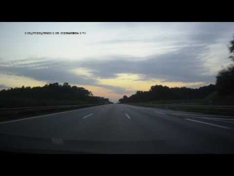 Driving in Real Time - Germany- Poland - Belarus Frontier