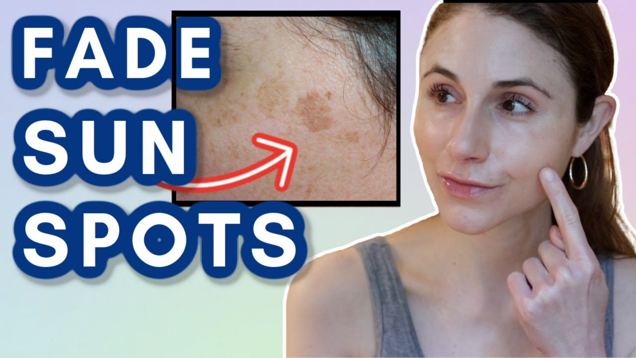 How to FADE SUN SPOTS Dr Dray