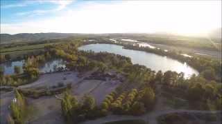 Prises de vues enduro au lac d'Oraison