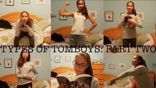 TYPES OF TOMBOYS PT 2 | just tomboy things thumbnail