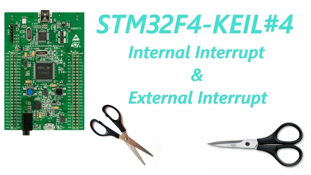 STM32F4-KEIL-ARM#4 Internal Interrupt & External Interrupt