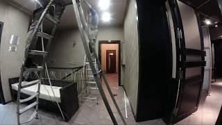 Монтаж пожарной сигнализации в ночном клубе Eclipse