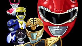 Música tema do Power Rangers Mighty Morphin, interpretada pela band...