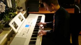 Bruno Mars - Just The Way You Are (piano cover) - Arranged by Toms Mucenieks