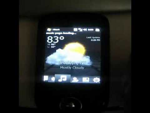 HTC Herald TMO WING Running Open Touch 6