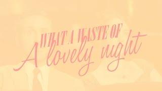 Cover images Emma Stone, Ryan Gosling - 'A Lovely Night' (LYRICS) [From La La Land]