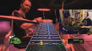 We Be Drummin'! Guitar Hero: Metallica Edition!